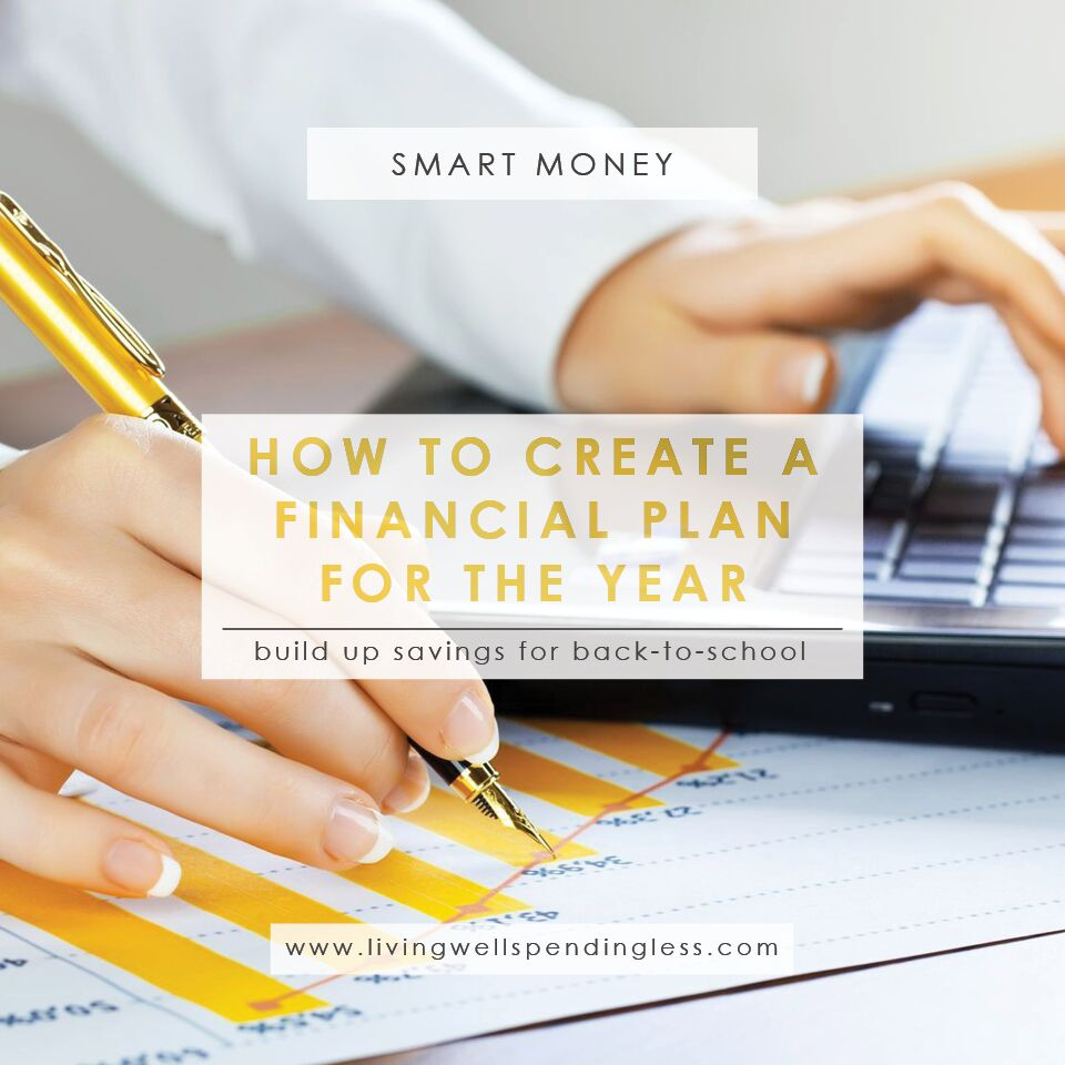 How to Create a Financial Plan for the Year | Smart Money | Financial Plan for August | Summer Financial Planning | Summer Savings Ideas | Back to School Savings Tips