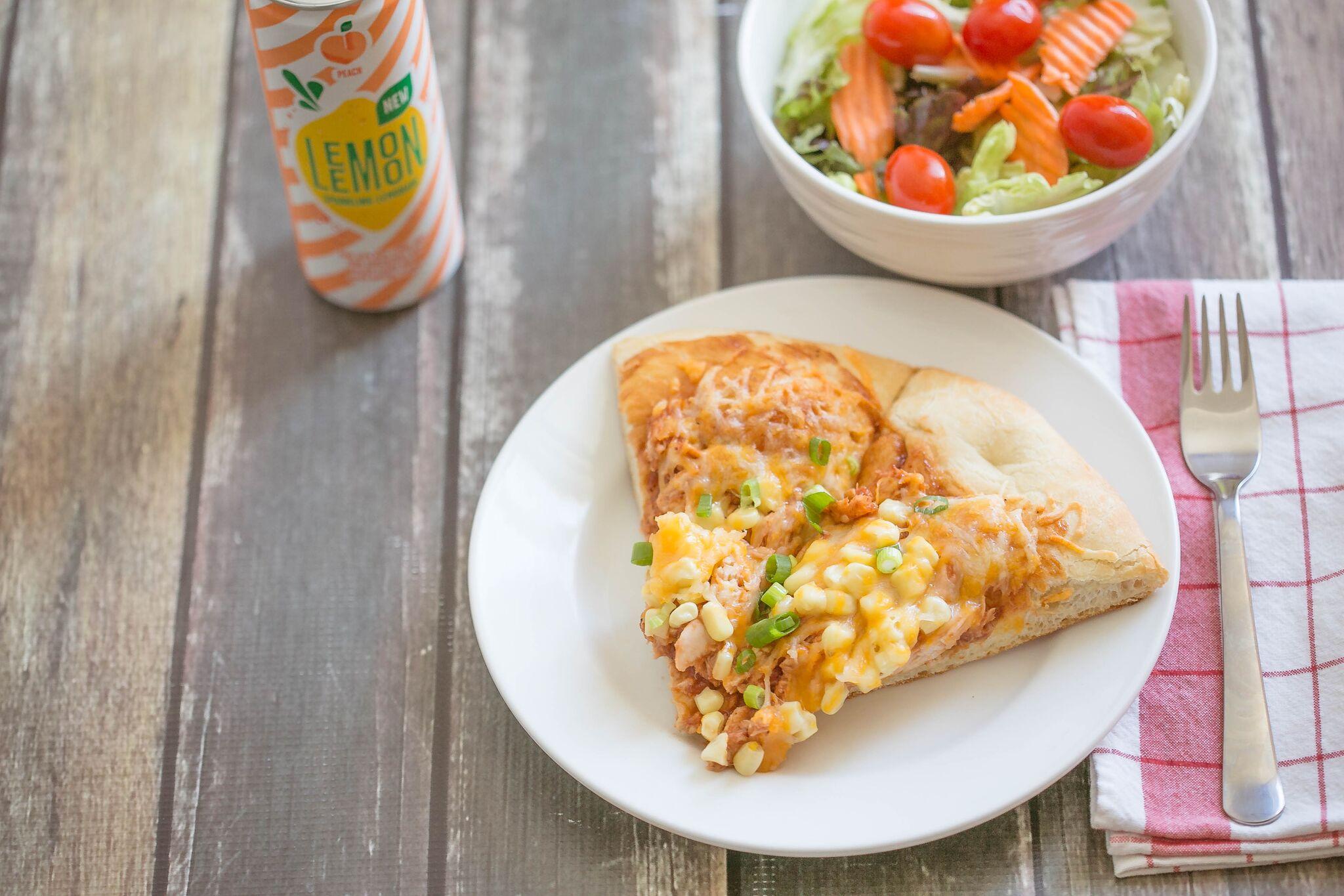 Simple 5 Ingredient BBQ Chicken Pizza