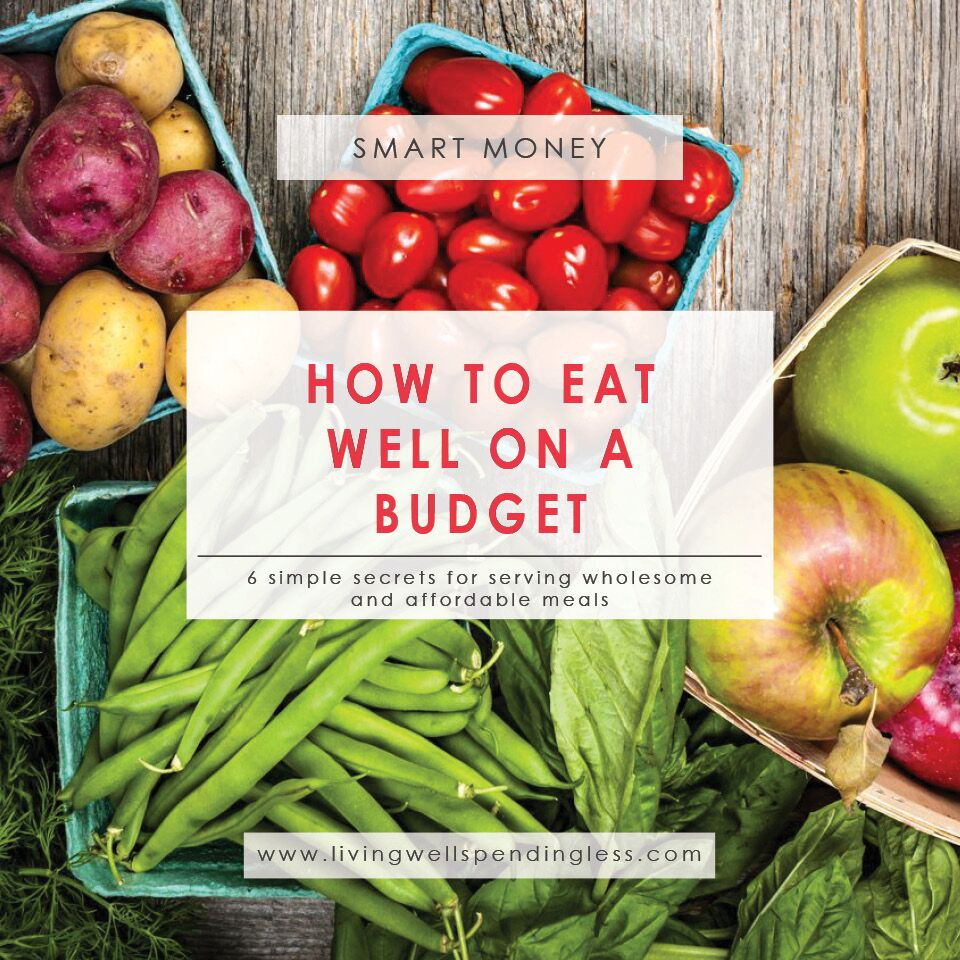 How to Eat Well on a Budget | How to Afford Wholesome Foods | Save Money on Food | Money Saving Meals | Grocery Budget Tips