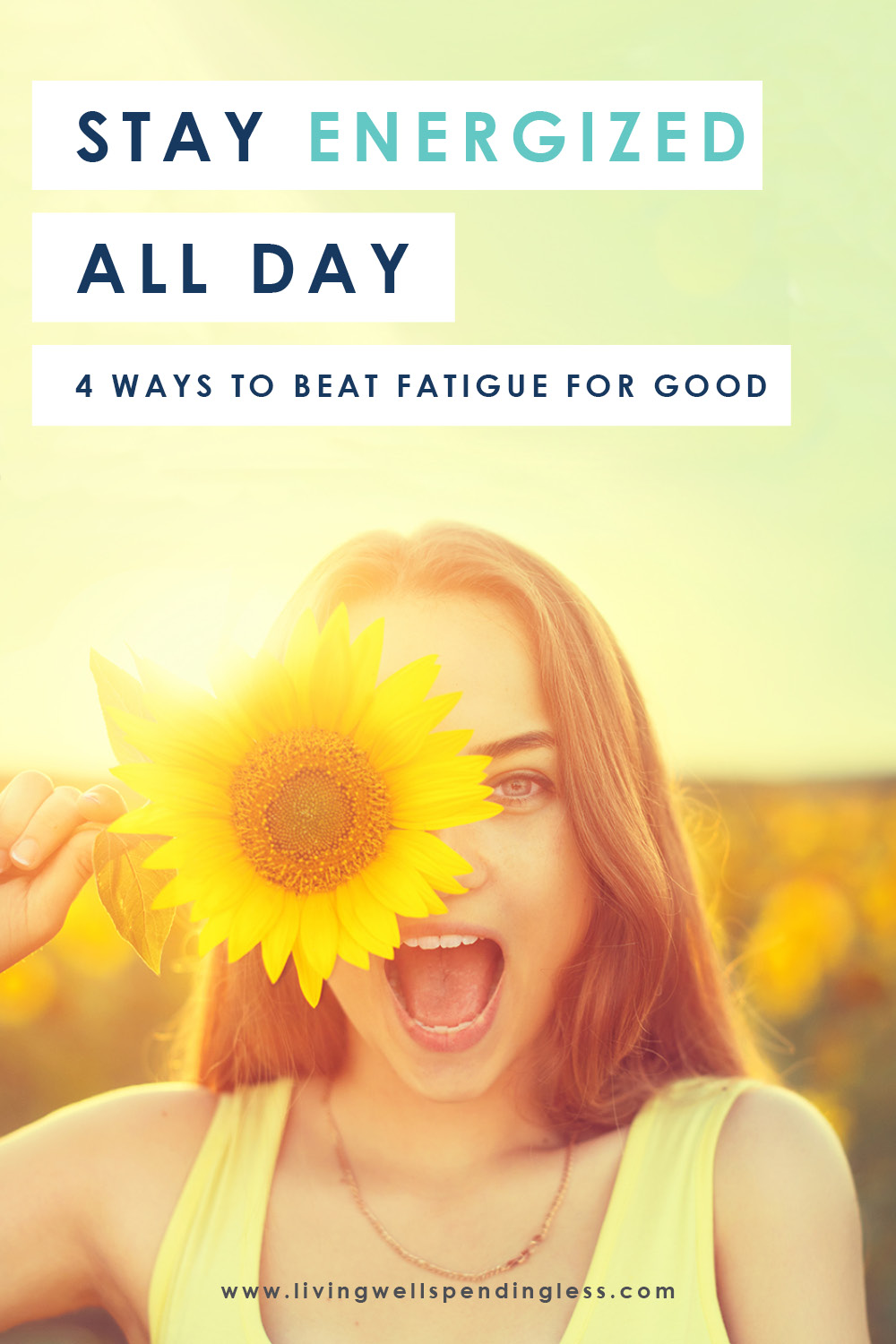 Wish you knew how to stay energized all day? Here are some helpful strategies for permanently eliminating fatigue for good! #selfcare #motivation #eliminatestress #selfcaretips