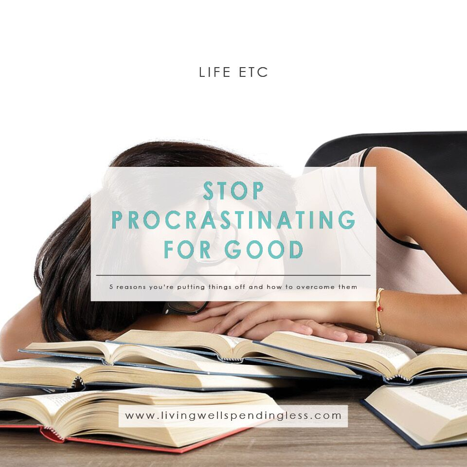 Stop Procrastination | Get More Done | Productivity Tips | Do It Scared | Why You Procrastinate | Productivity | Perfectionism | Goal Setting | SMART Goals