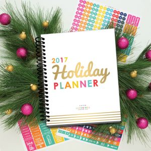 2017 Holiday Planner | Living Well Spending Less Holiday Planner | Stress Free Holidays | Holiday Planning with Less Stress