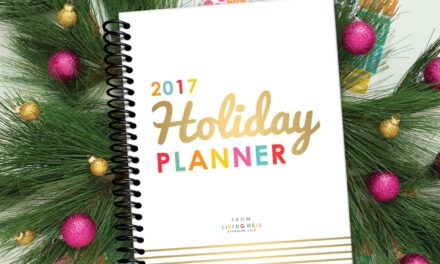 It's Back!  Get the 2017 LWSL Holiday Planner