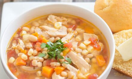 Spicy Chicken and Bean Soup