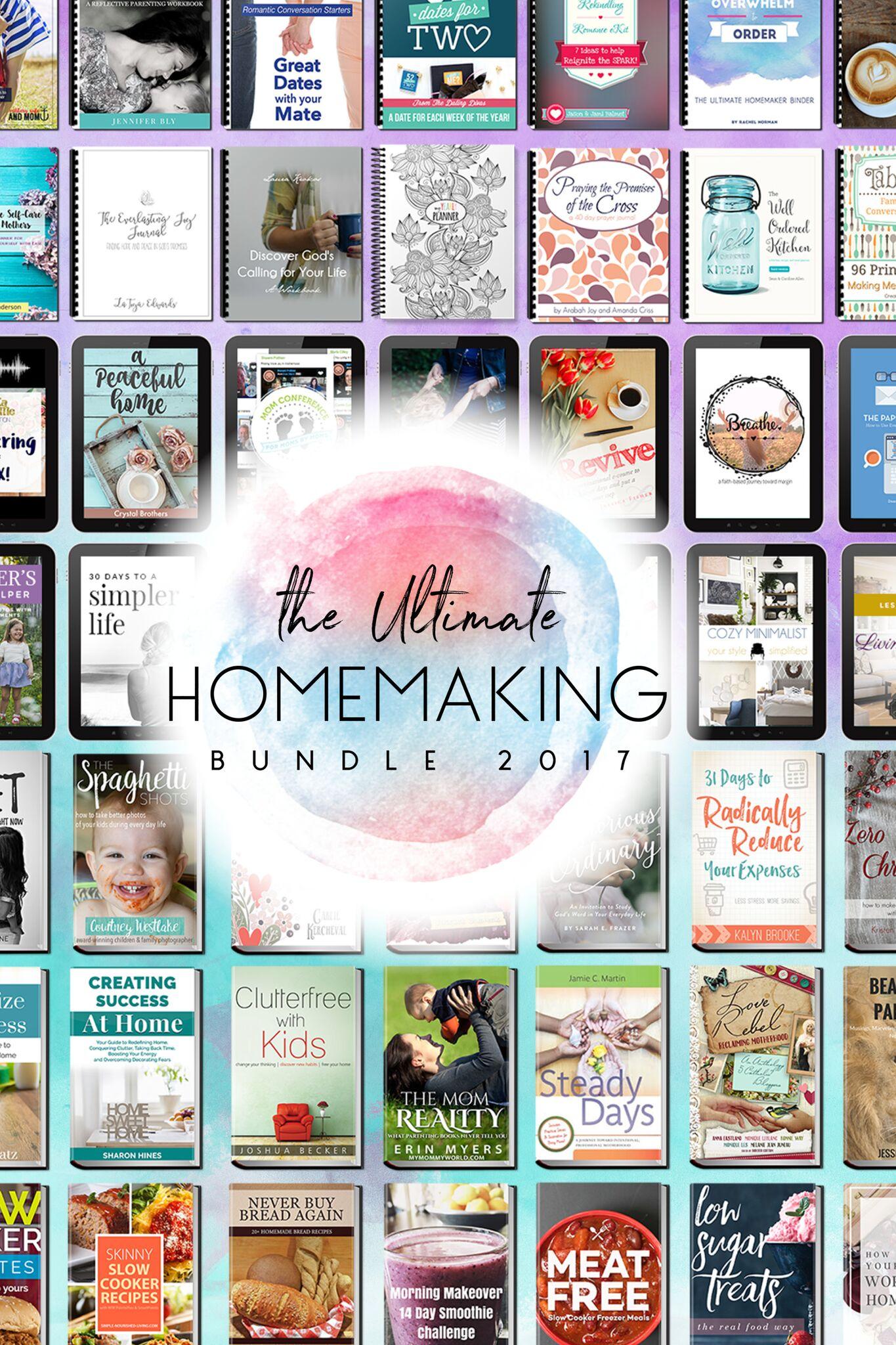 Ultimate Homemaking Bundle Flash Sale