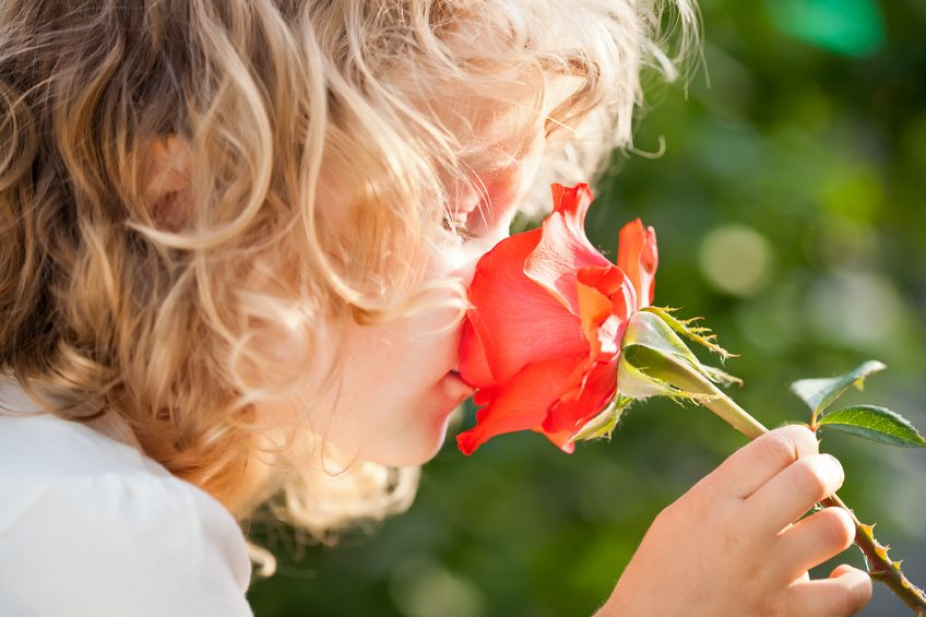 Teach your kids to stop and smell the roses, mindfulness helps develop patience in children.