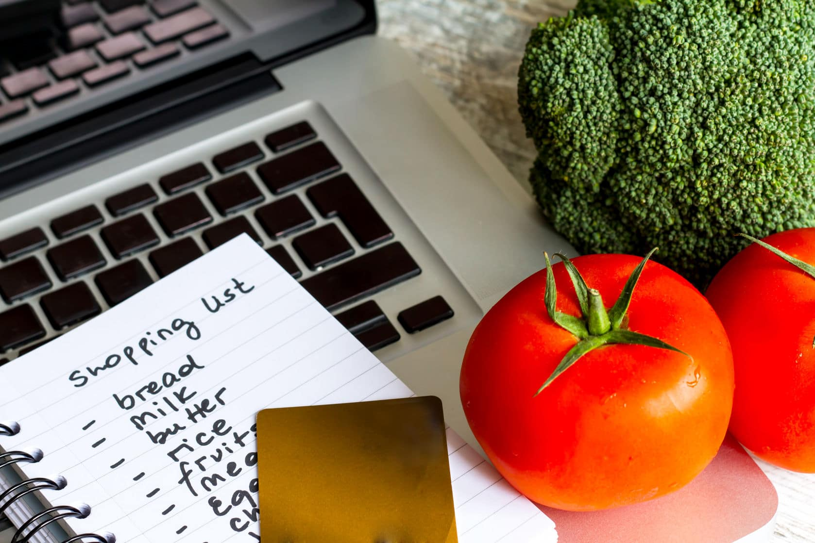 Plan your meals so you can budget for groceries and save a little extra cash
