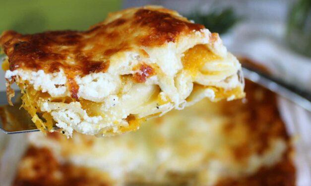 Easy Butternut Squash Lasagna