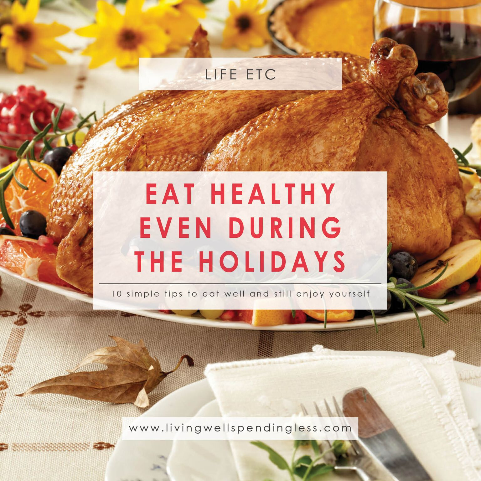 Eat Healthy During the Holidays | Healthy Eating | Eat Clean | Avoid Holiday Weight | Holiday Health Tips