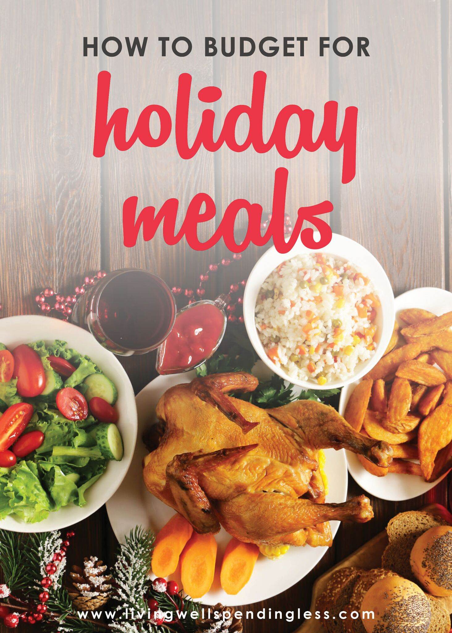 How to Budget for Holiday Meals