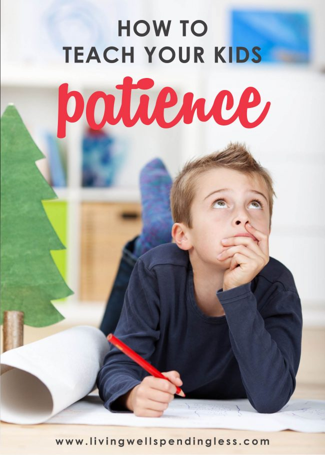 Worried your children don't understand the value of patience? These 8 tips on how to teach your kids patience in a world of instant gratification can help!
