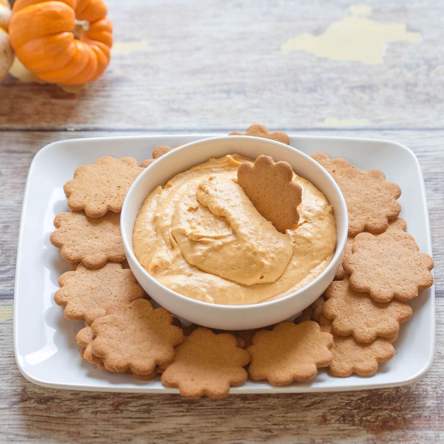 Pumpkin Dip | Fall Dessert Recipe | No Bake Dessert | 5 Ingredients or Less | Food Made Simple