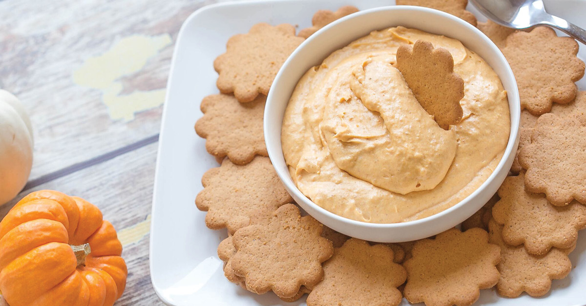 Easy Pumpkin Spice Cookie Dip