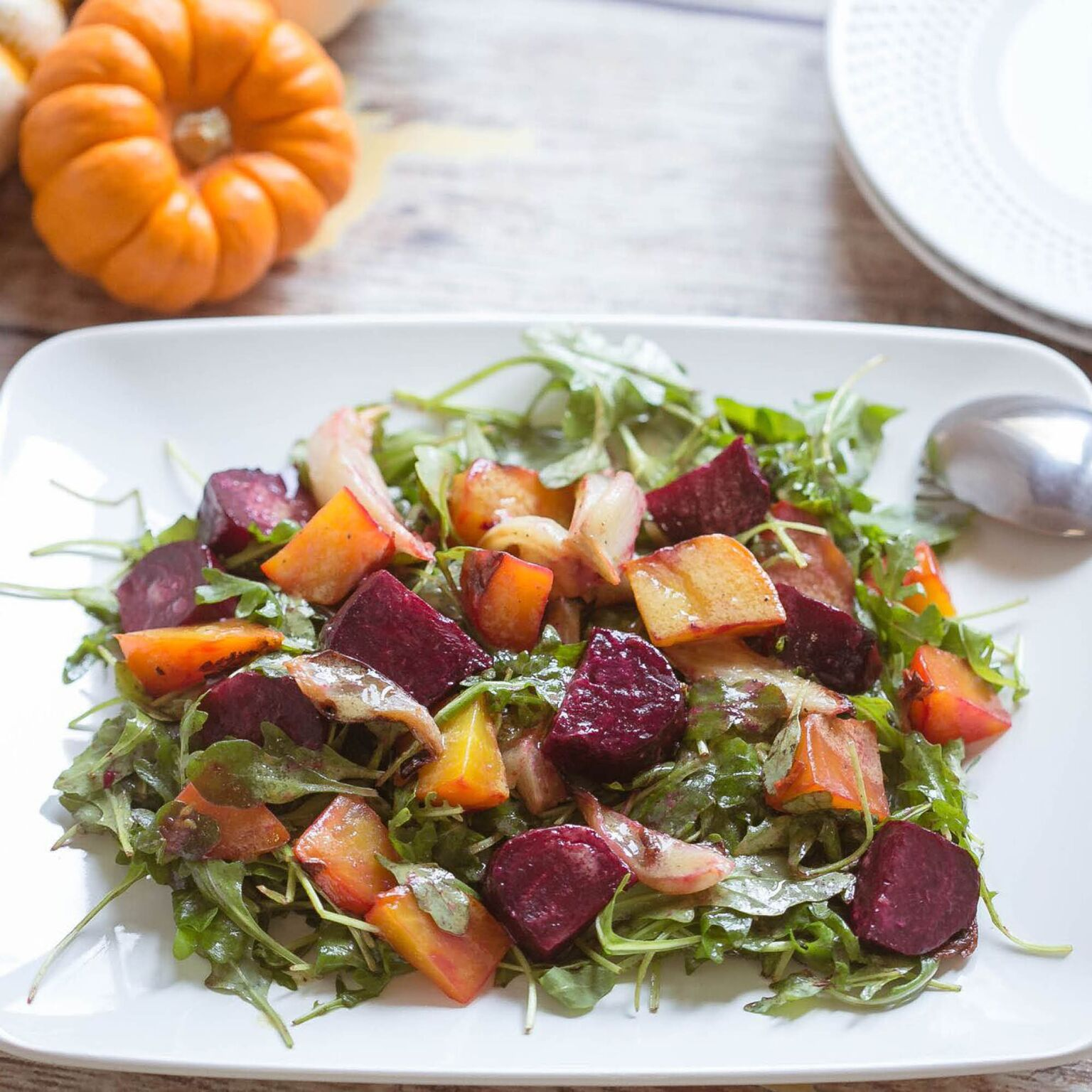 Roasted Beet and Fennel Salad | Fall Side Dish | Root Vegetables | Salad Recipe | Unique Thanksgiving Recipe
