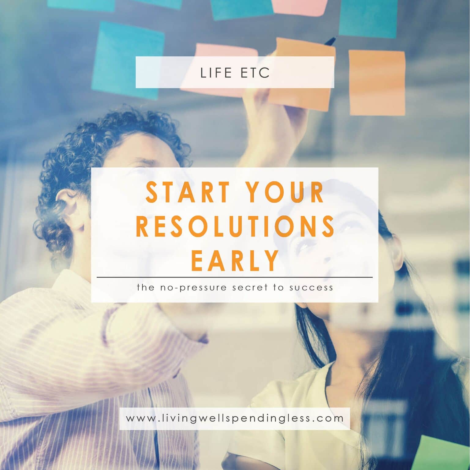New Years Resolutions | Goal Setting | Living Well Planner | Best Year Ever