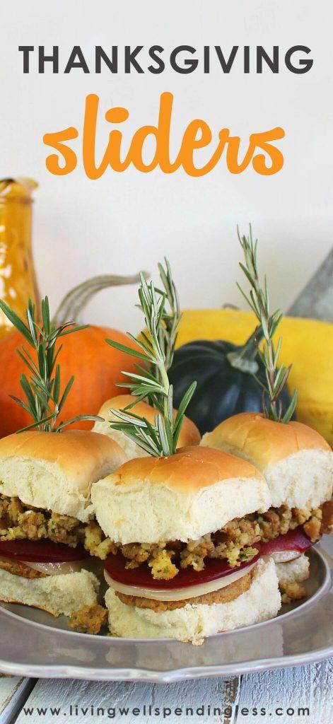 Thanksgiving Sliders | Leftover Thanksgiving Sliders |Thanksgiving Burgers | Holiday Leftovers Recipe