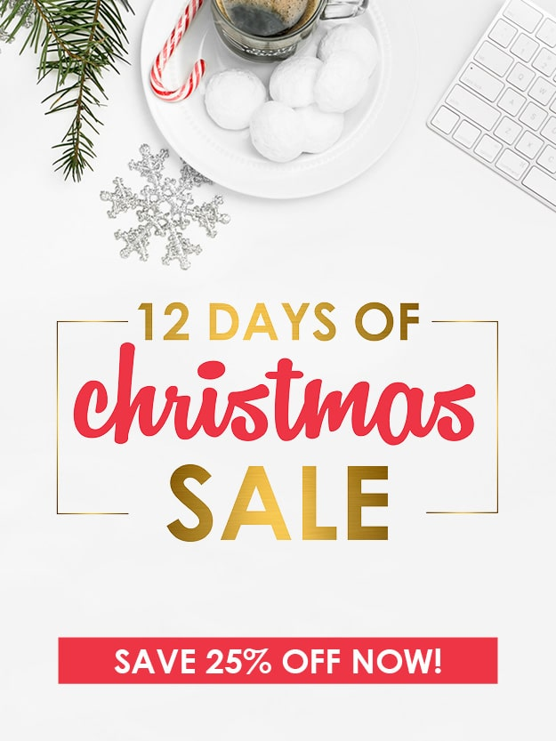 Christmas has come early with our biggest holiday sale EVER!  Save 25% on our most popular products, including Living Well Planner® bundles, accessories, gifts, books, and more!  It's the perfect way to get organized and set yourself up for massive success in 2018!