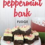 Who needs more peppermint and chocolate in their life? Then this festive holiday dessert is for you! It will not only help everyone get into the holiday spirit, but it's so easy no one will believe you didn't spend all day making it.