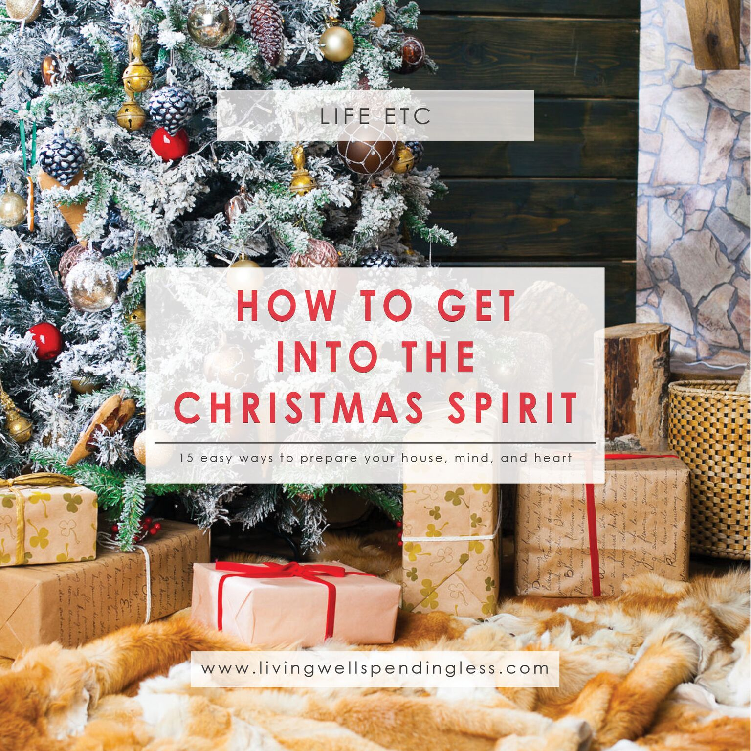 how to get into the christmas spiritpreparing for the holiday season with less stress