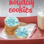 Need festive treats fast? These holiday cookies can be made in under an hour and create a fun activity for the whole family as you prepare your home for Christmas.
