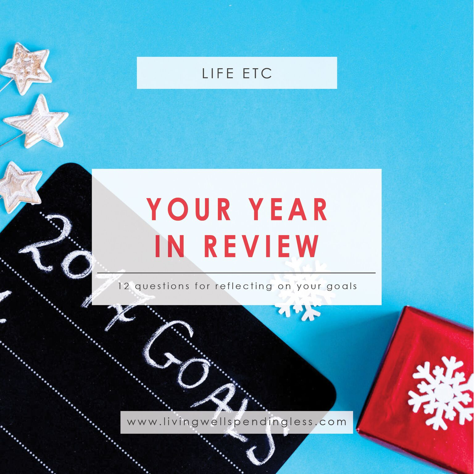Your Year in Review⎢Goal Setting⎢Living Well Planner⎢Reflection Questions⎢Planning⎢New Year⎢Resolutions