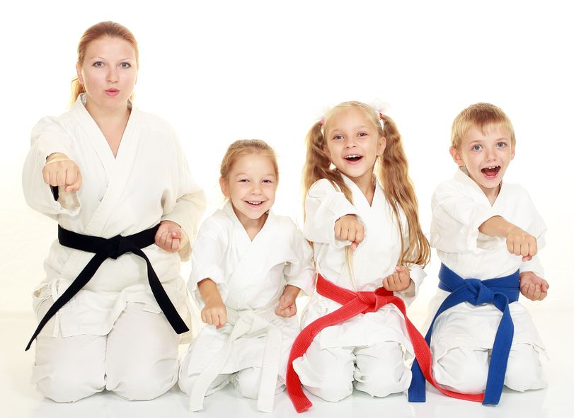Learning new activities like karate is a unique way to have fun as a family.