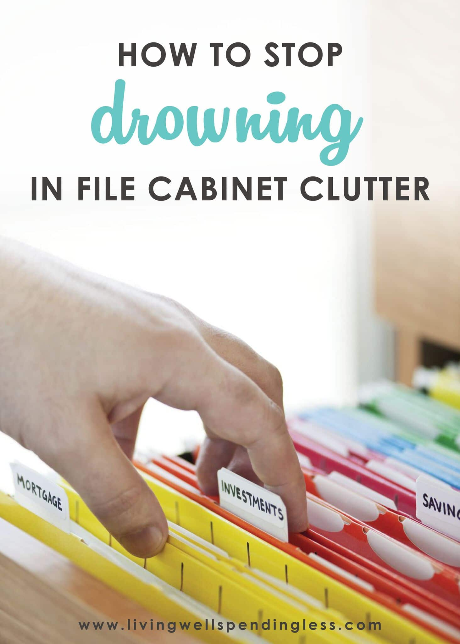 Stop Drowning in File Cabinet Clutter