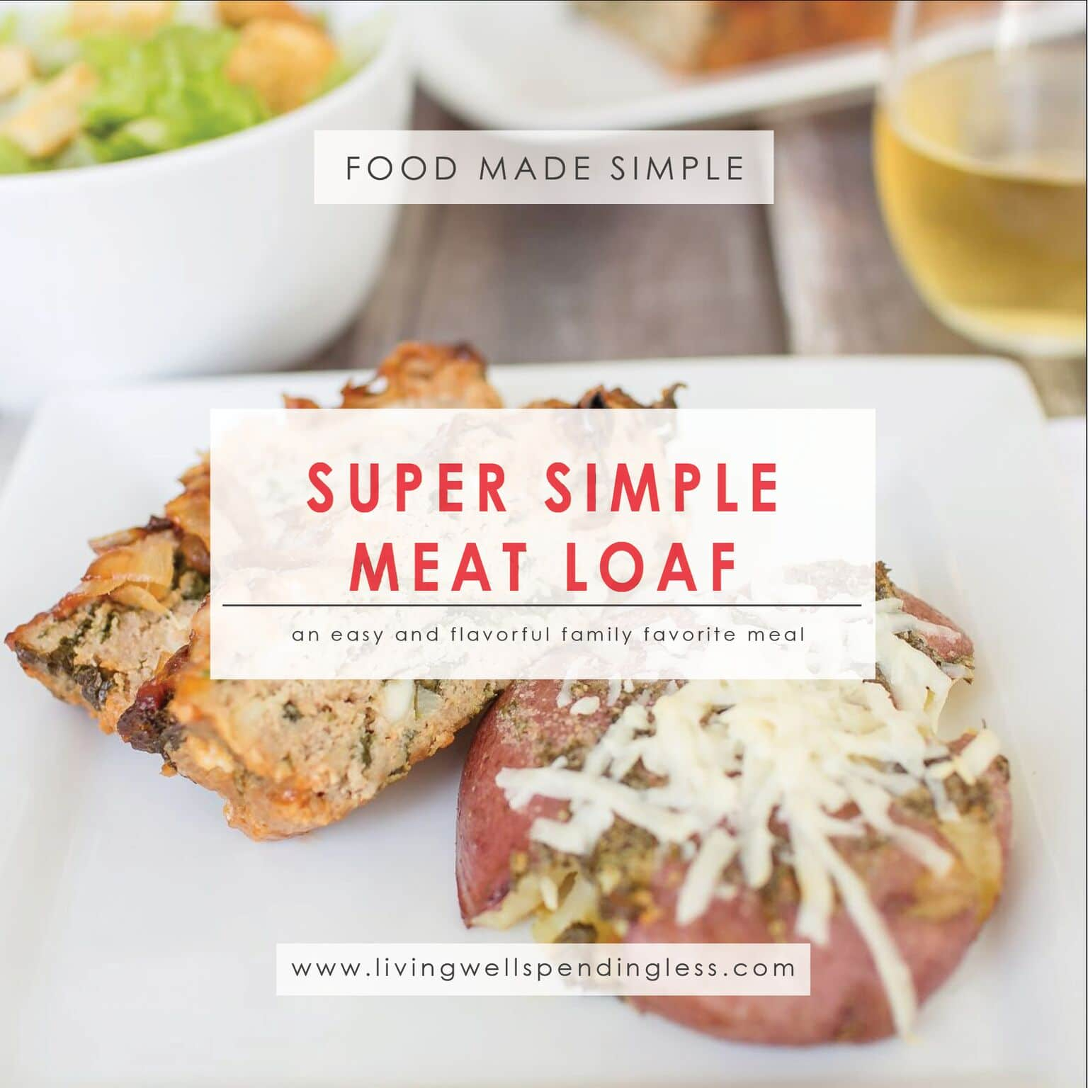 Super Simple Meatloaf⎢Easy and Delicious Comfort Food Recipe⎢Winter Meals⎢Family Dinners⎢Meat Lover Recipe