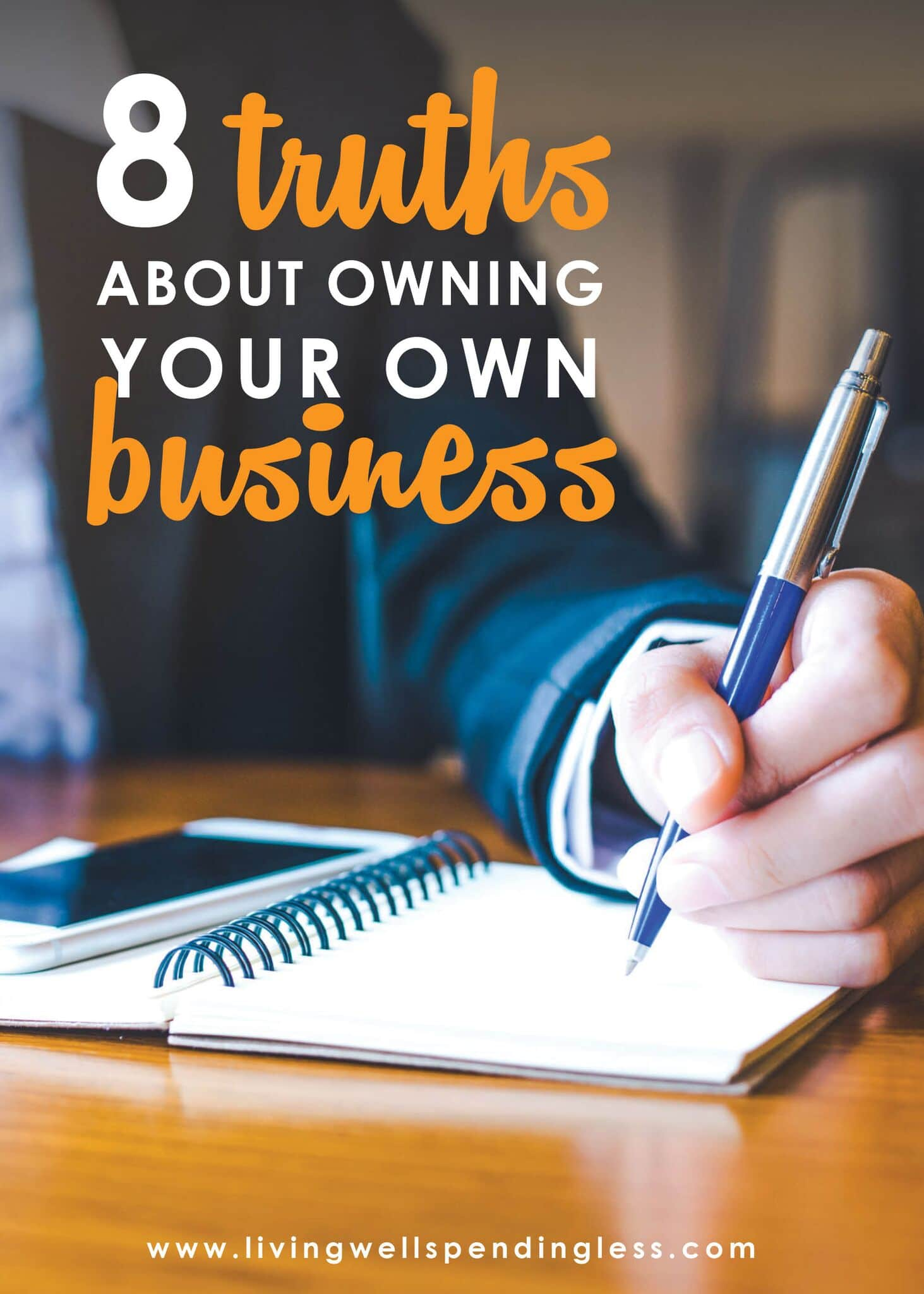 Are You Ready to Be Your Own Boss? ⎢ 8 Truths About Owning Your Own Business⎢Mindset⎢Online Business⎢Confidence⎢Start a Business⎢Work at Home Mom⎢Work from Home