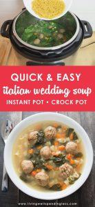 Easy Italian Wedding Soup | Instant Pot Soup Recipe | Crock Pot Soup Recipe | Food Made Simple | Quick Dinner Recipe | Best Italian Wedding Soup Recipe