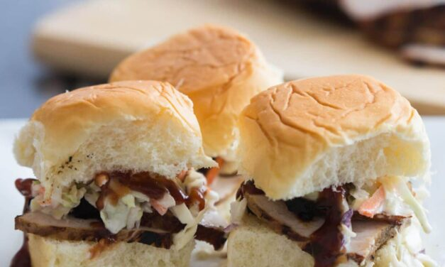 Pork Sliders with Slaw