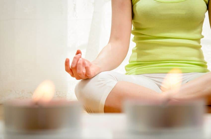 Taking the time to meditate is a great way to de-stress and age gracefully.