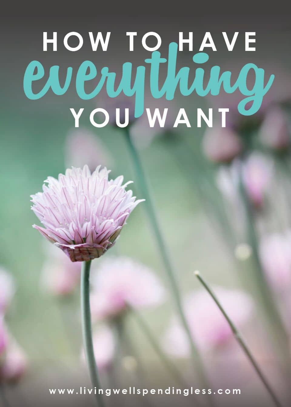 How to Have Everything You Want | Living Well Spending Less