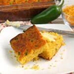 Jalapeno Cheddar Cornbread | Southwest Cornbread | Quick & Easy Cornbread | Cornbread Recipe