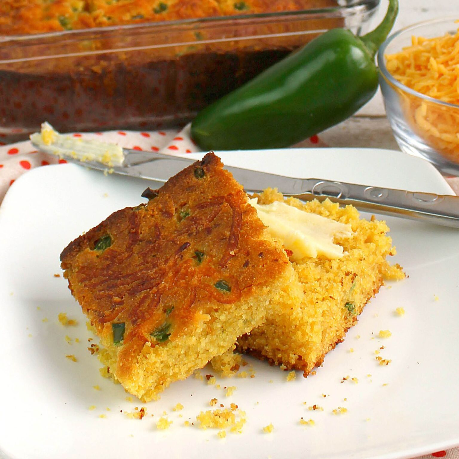 This delicious jalapeno cornbread recipe is a great side dish for family dinner