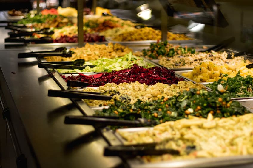 Be mindful with the weight of the ingredients you choose at the Whole Foods salad bar to avoid higher prices.