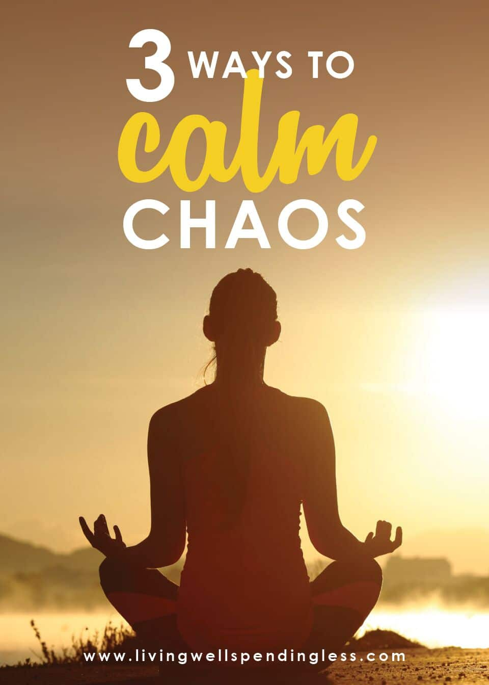 3 Ways to Calm Chaos | How to Catch Your Breath When Life Gets Crazy