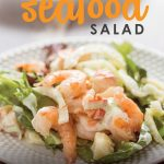Looking for a fancy meal for your next special occasion but short on time? This extra special shrimp and lobster salad comes together in less than 10 minutes and is the perfect way to make any meal a celebration!