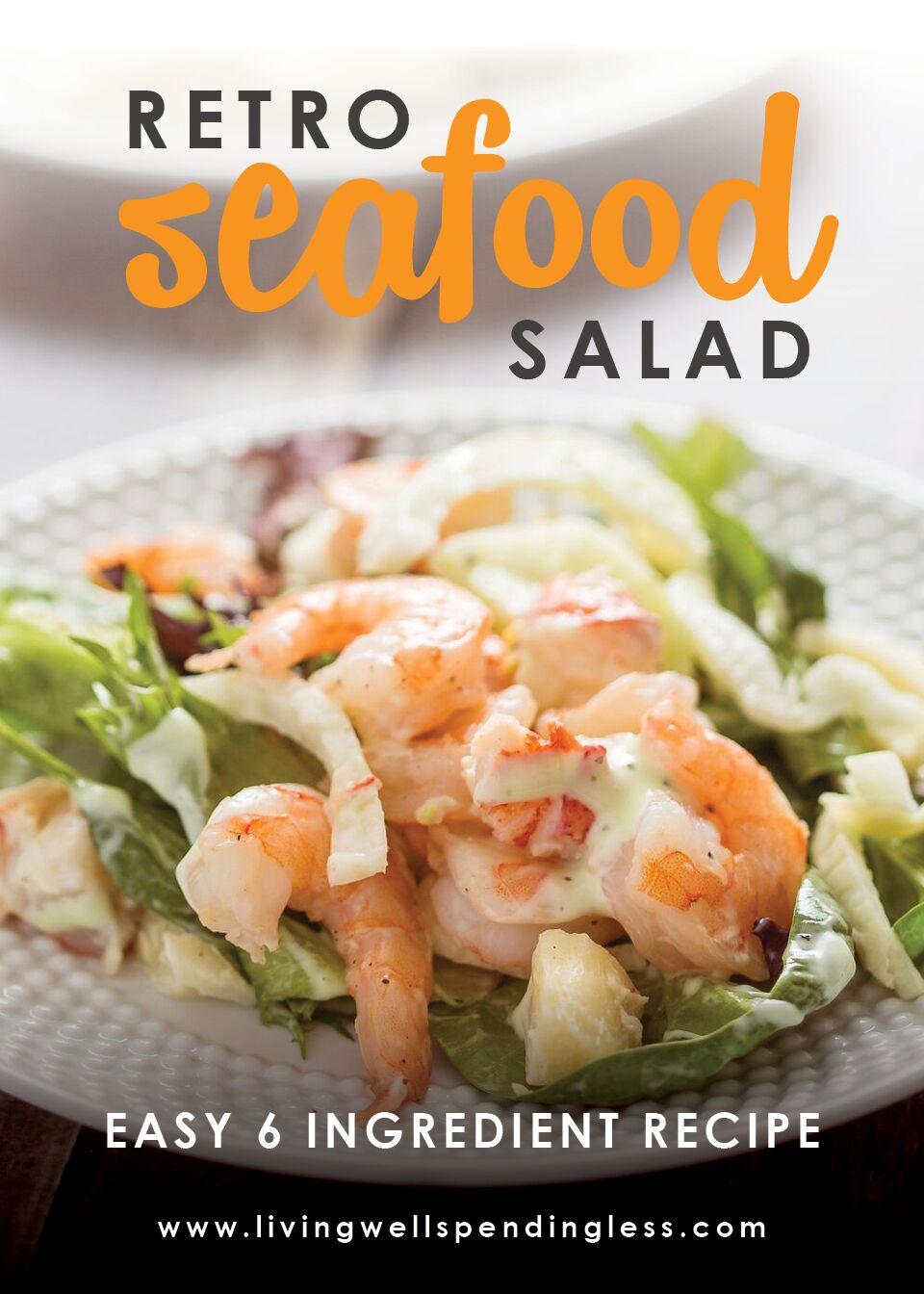 Retro Seafood Salad