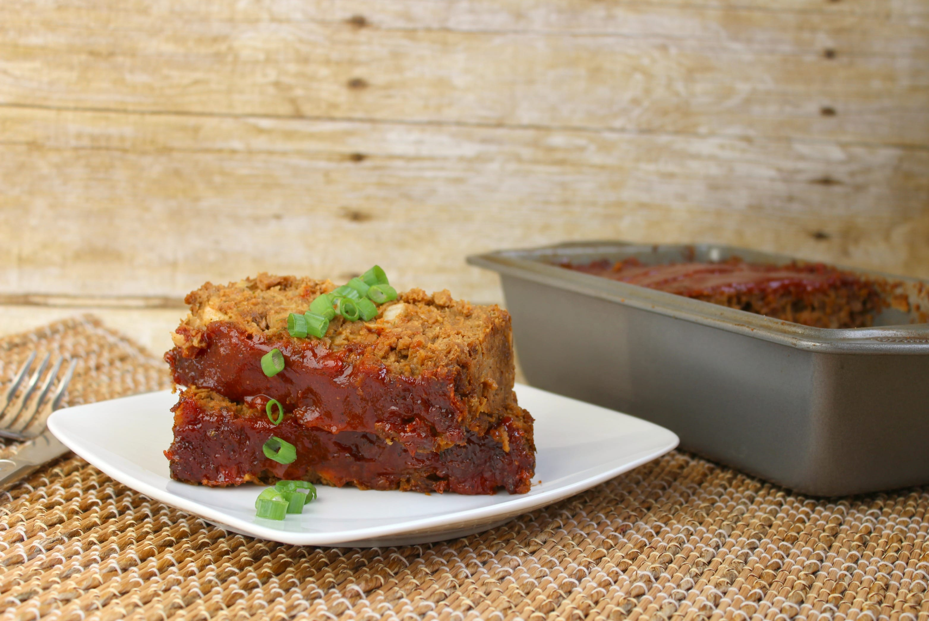 This vegetarian meatloaf is just as juicy and delicious as the real deal!