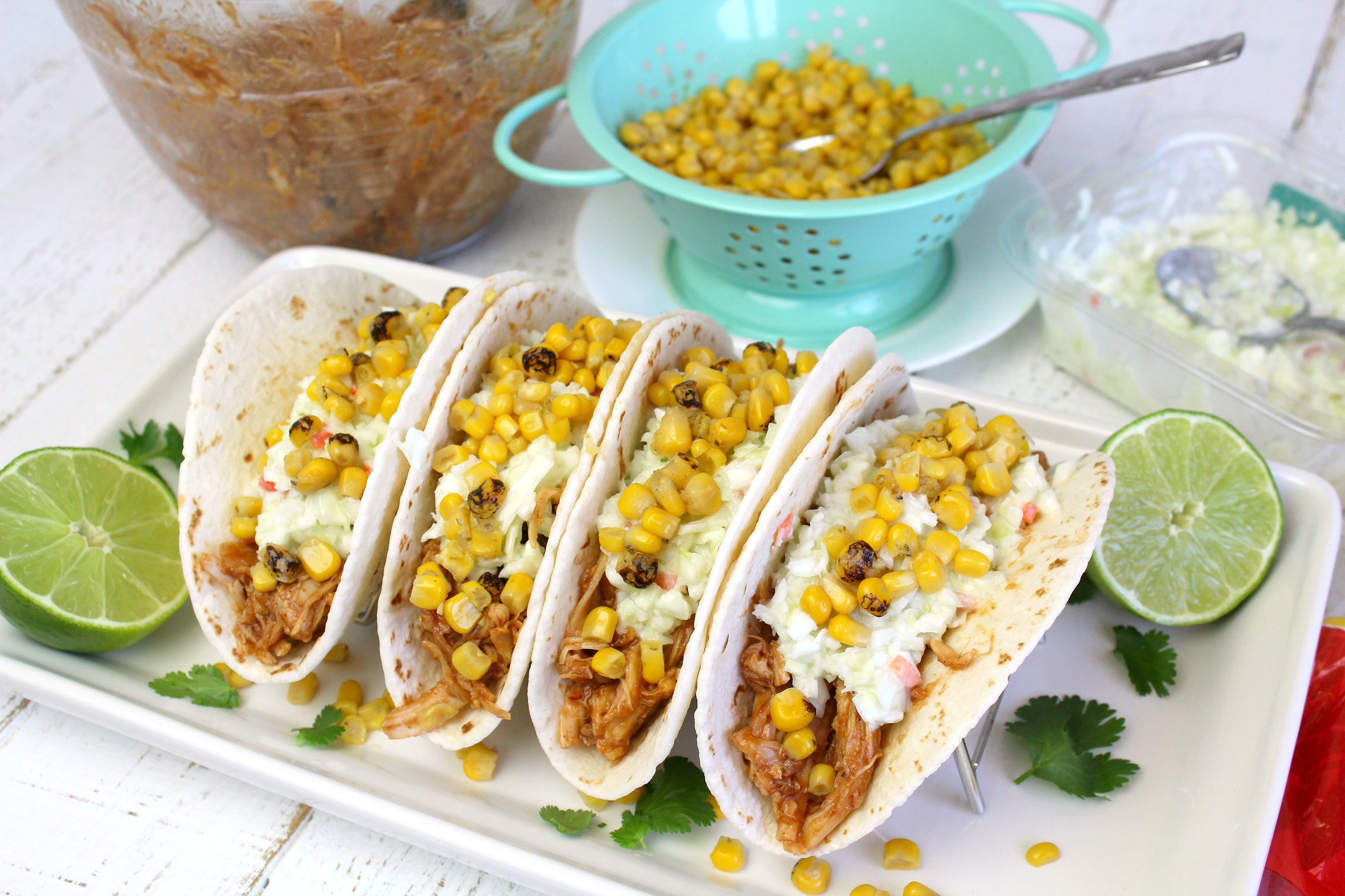 5 Ingredient Tacos ready in less than 5 minutes!