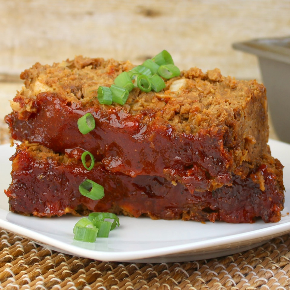 Vegetarian Meatloaf | Simple vegetarian recipe | Easy vegetarian meatloaf