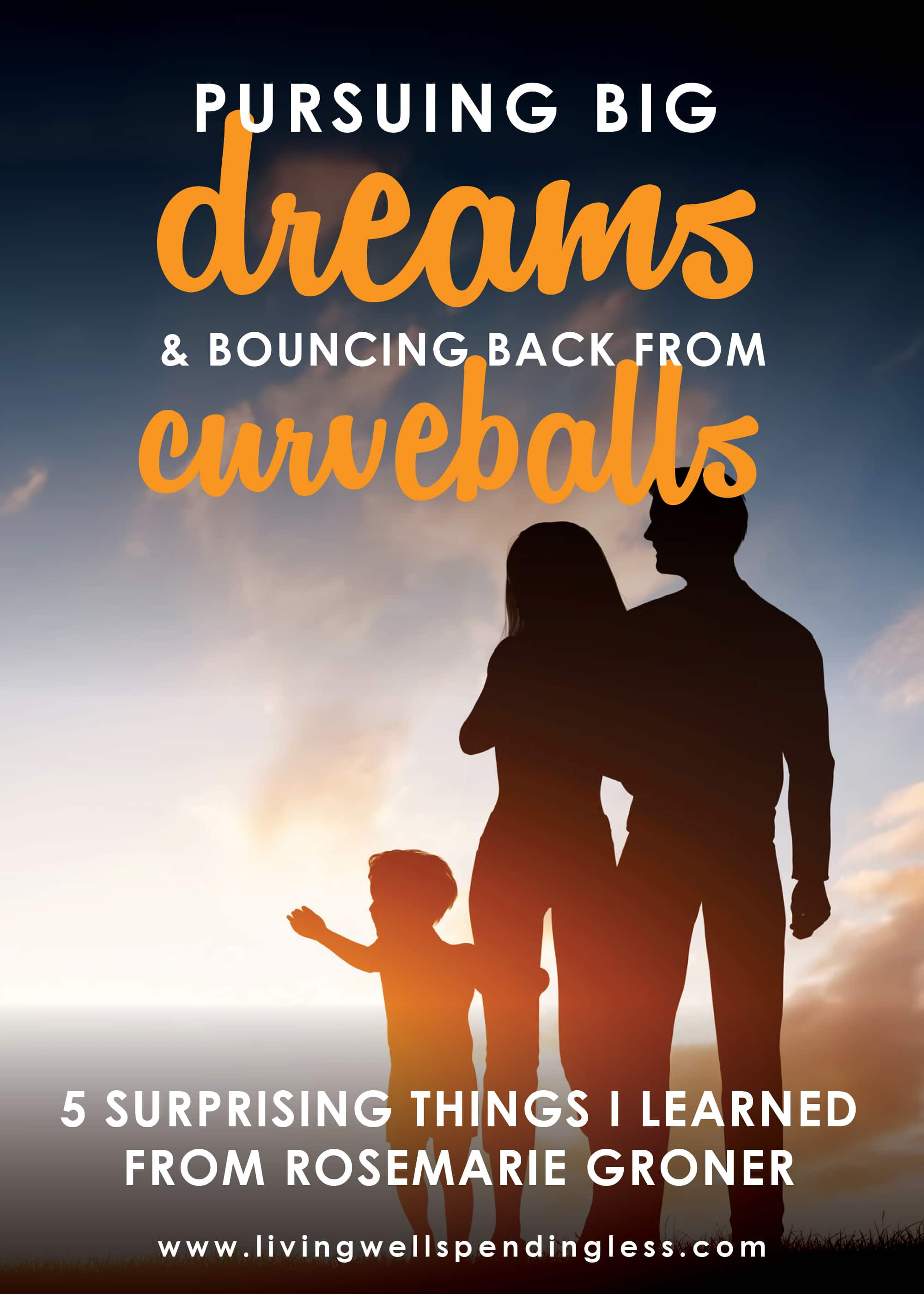 Pursuing Big Dreams and Bouncing Back From Curve Balls