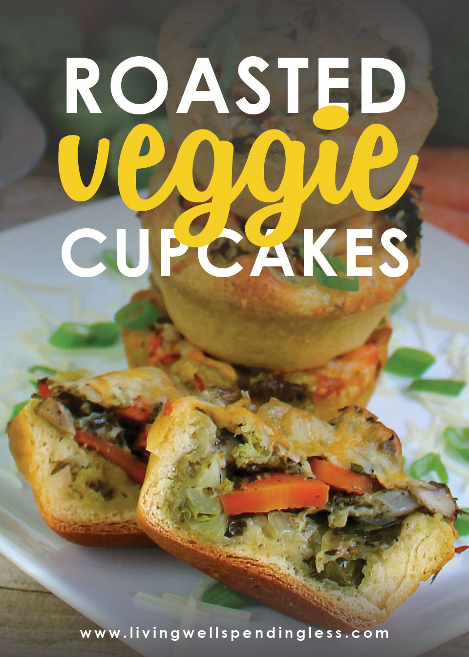 Looking for an easy way to get your kids to eat more vegetables? These simple roasted veggie cupcakes may be just the ticket! My husband and 2 girls went absolutely crazy for this recipe. They polished off their plates 2 nights in a row--practically licking them clean--even though it was chock full of things like Brussels sprouts, broccoli, & mushrooms!