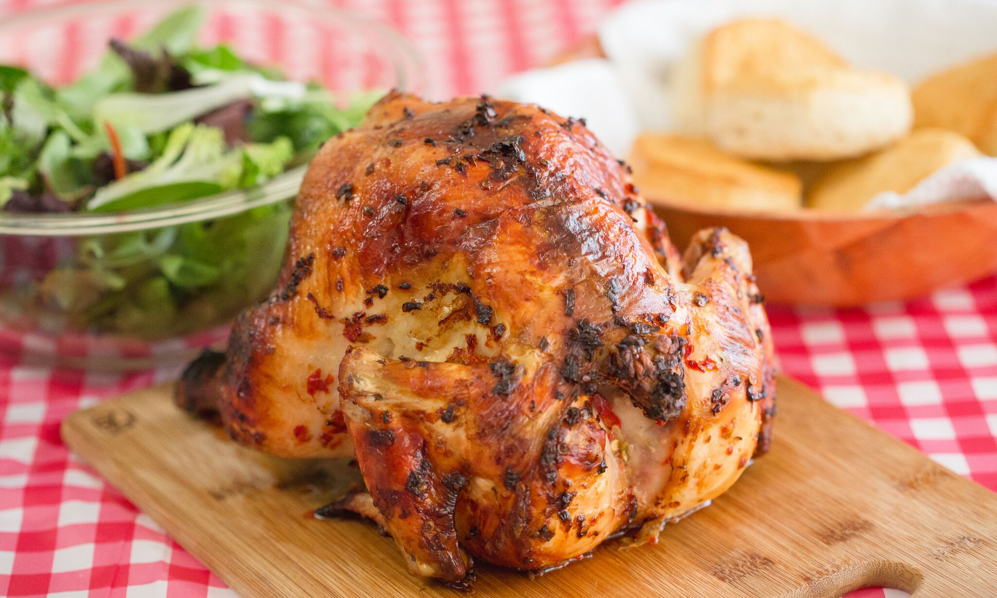 Perfectly grilled beer can chicken is a creative dinner that doesn't take much effort and is super delicious!