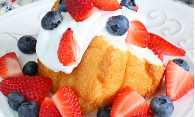 Red, White & Blue Shortcake