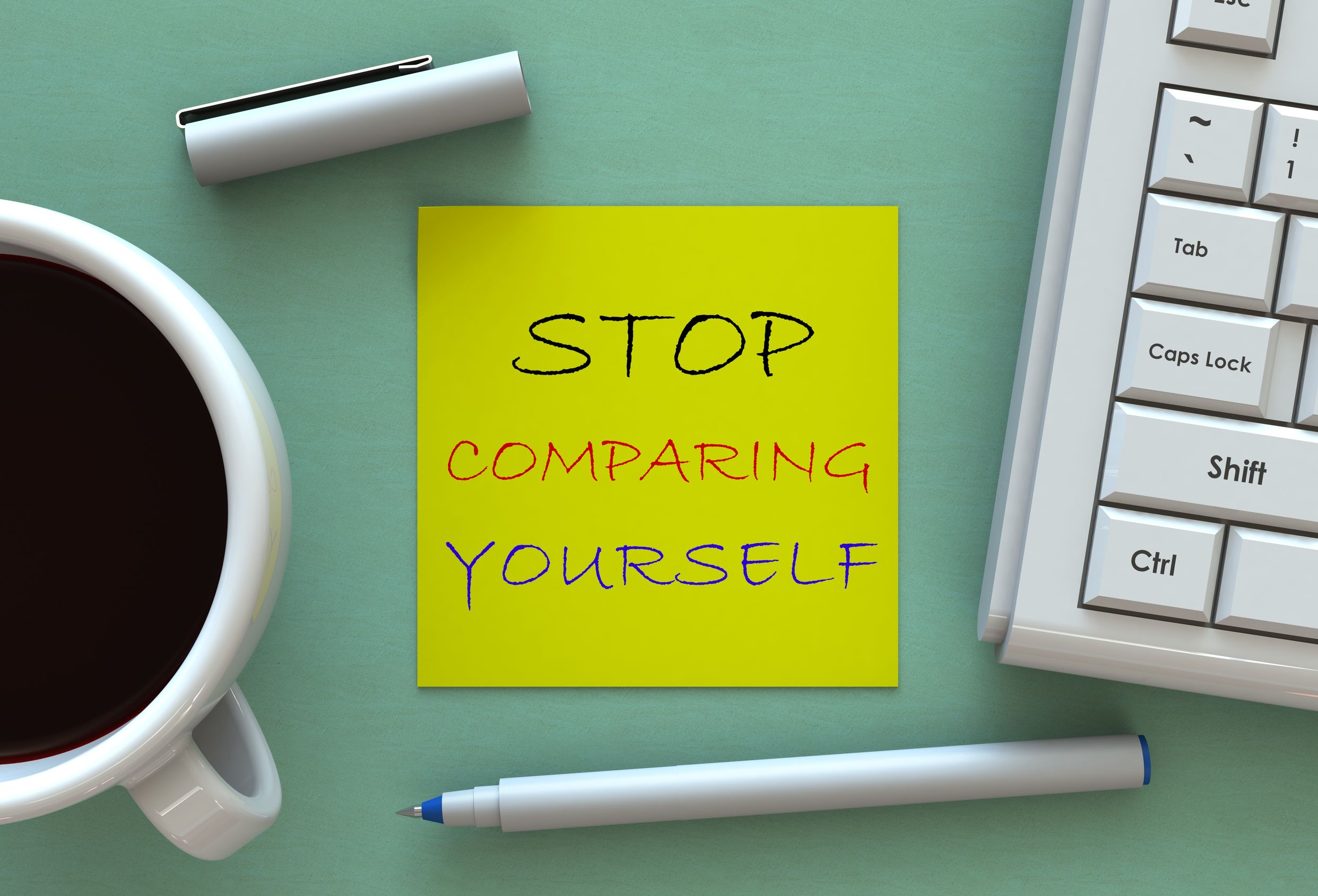 Your must stop comparing yourself to others to be fearless.