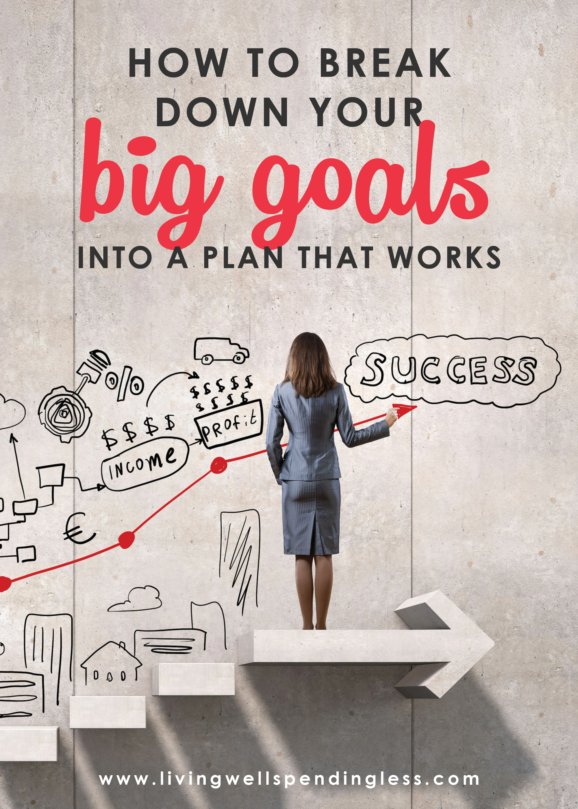 Need help accomplishing your big goals? These tips will help you create a plan that works to help you reach your upmost potential and find success!