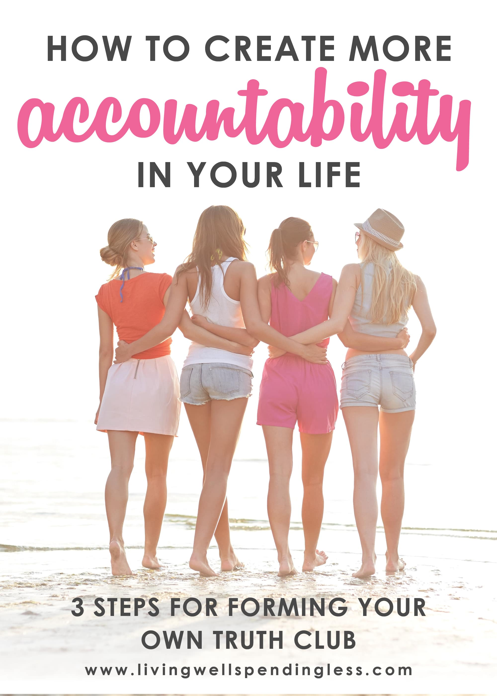 Why is accountability so important? In this episode of the Do It Scared™ Podcast, you'll learn more about the steps for creating your truth club and how to create deep and meaningful relationships once you find your people! #doitscaredpodcast #truthclub #findyourtribe #meaningfulfriendships #ruthsoukup