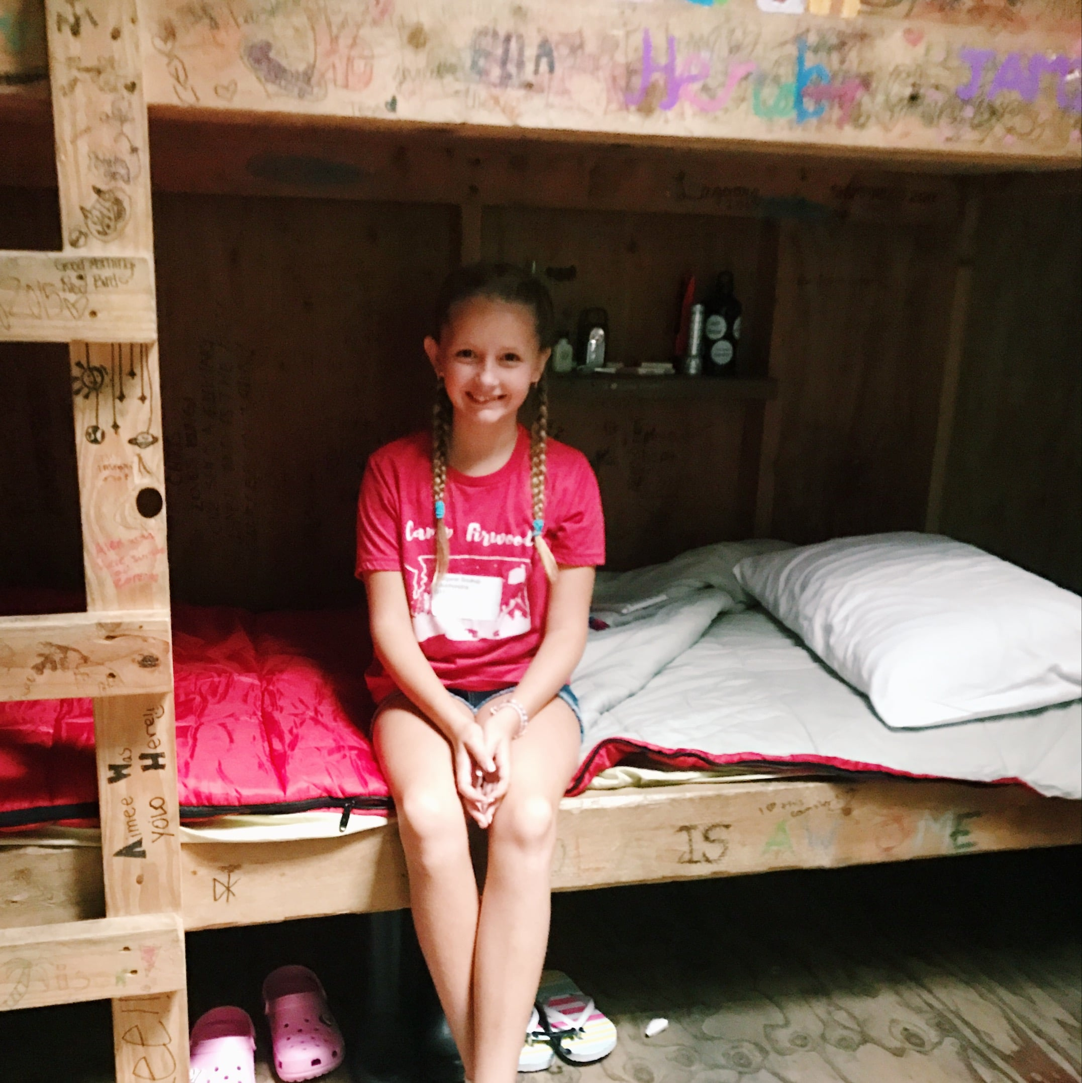Summer camp fun starts with bunk beds!